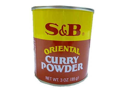 S&B Curry Powder, Oriental, 3 oz