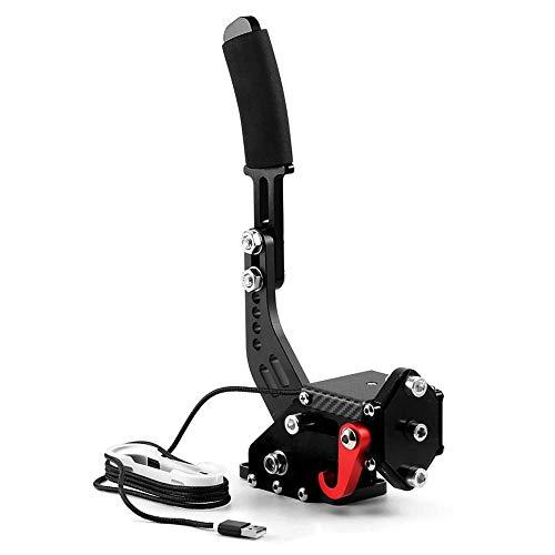 lesgos USB pc handbremse, PC Handbremse, Plug & Play SIM Handbremse Gaming Controller für Drift-Rennspiele G25 G27 G29 T500 FANATECOSW Dirt Rally