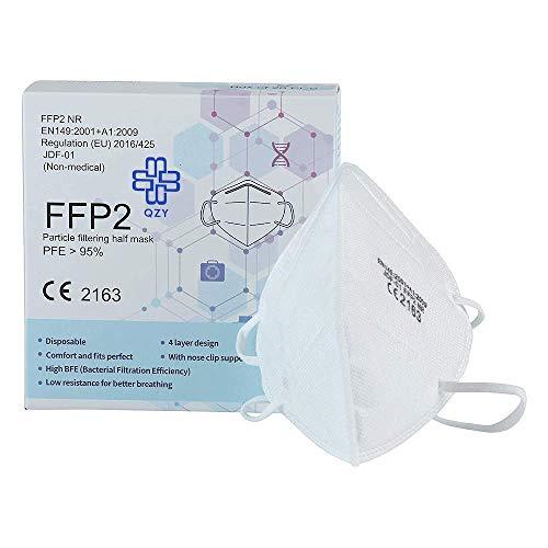 Schutzmaske, FFP2, 20 Stück, CE-geprüft