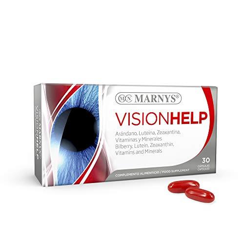Marnys Visionhelp - Arándano, Luteína+Zeaxantina, Vitaminas y Minerales - Ayudan a la Salud Visual - 30 cápsulas 0