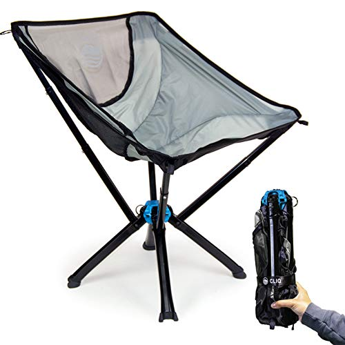 Cliq Camping Chair - Most Funded Portable Chair in Crowdfunding History. | Bottle Sized Compact...