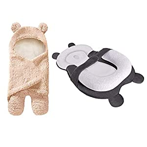Cute Baby Items Newborn Plush Nursery Swaddle Blankets Portable Baby Lounger Pillows