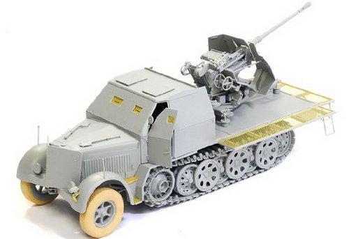 Dragon 500776542 – Automobile spéciale 7/2 3,7 cm Flak 37, 1 : 35