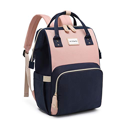 Motherly Stylish Babies Diaper Bags for Mothers - Ultra Premium Version (Blue,Light Pink)