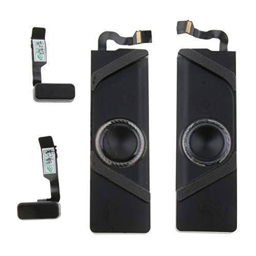 H HILABEE Altavoces Portátiles Esté Reparación De Sonido para Macbook Pro Retina A1706 Reparación