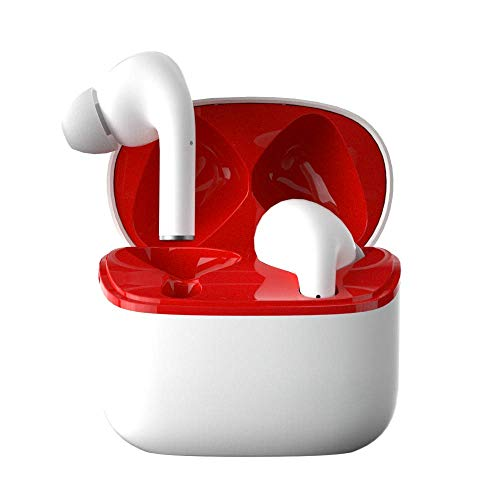 Quslly Bluetooth Headphones - Wireless Headphones with Microphone in-Ear,...