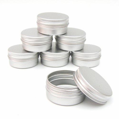 5 x Lippenbalsam-Dosen 15 ml Fassungsvermögen (leer) zur Herstellung eigener Kosmetik/Beauty-Produkte