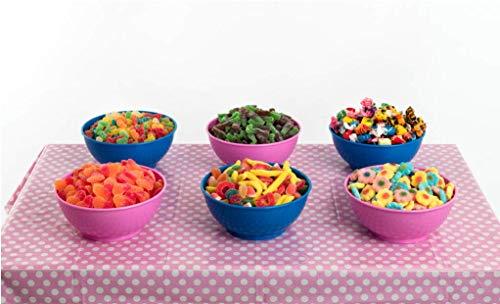 Candybar Tamaño Pequeño La Asturiana - Golosinas para Mesa Dulce o Candybar, eventos pequeños (6 clases de chucherías distintas)