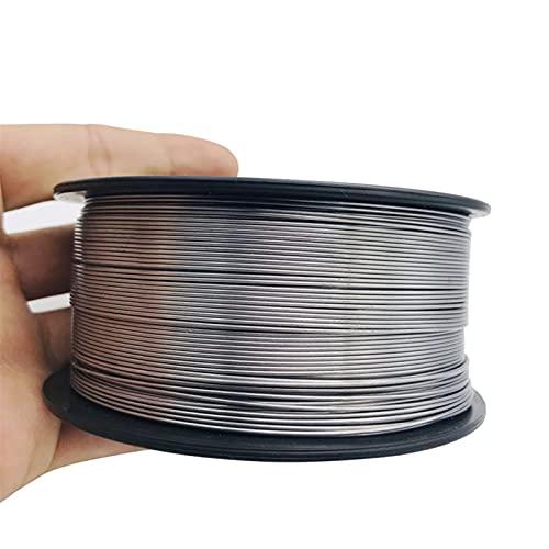 Verakee Ztengyu-Soldadura de Alambre 0,8/0.9/1.0/1.2mm, Cable de Soldadura MIG sin Gas, E71T-GS A5.20, Cable de Soldadura de Flujo, sin Gas para Herramienta de Soldador MIG Fácil de Usar