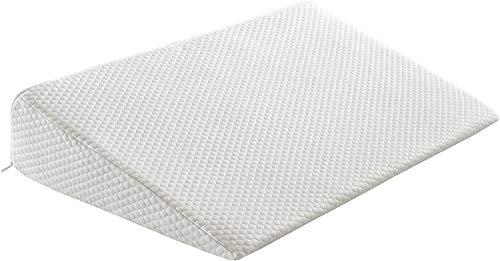 Casatex Cuscino a cuneo ANTIREFLUSSO, ideale per disturbi da reflussi gastroesofagei - Misura: base 45x75cm, altezza da zero a 12 cm