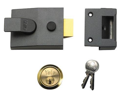 Yale Locks 91 Basic Dmg Verrou Laiton Cylindre 60 mm dans Une boîte