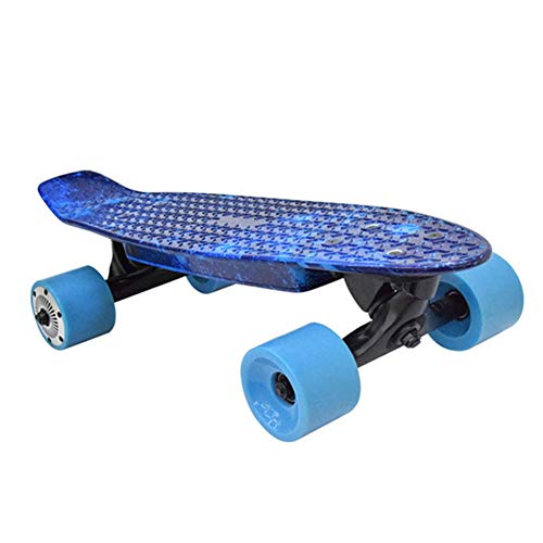 Feng tata Vier Räder Elektrisches Skateboard Mit Drahtloser Fernbedienung, Double Motor Electric Power Longboard Scooter Boosted Brett E-Scooter Hoverboard