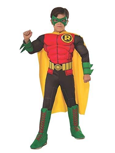 Costume Robin Batman Deluxe Bambino
