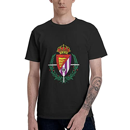 Real Valladolid - Camiseta de manga corta para hombre