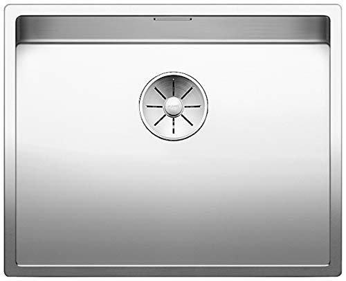 BLANCO Claron XL 60-IF Dampfgarplus, Küchenspüle abgestimmt aufs Dampfgaren, für normalen und flächenbündigen Einbau, InFino-Auslauf, Edelstahl Seidenglanz; 521595