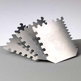 Struktur / Effektspachtel, 60 x 70 mm, 2 Stück, Spachtel