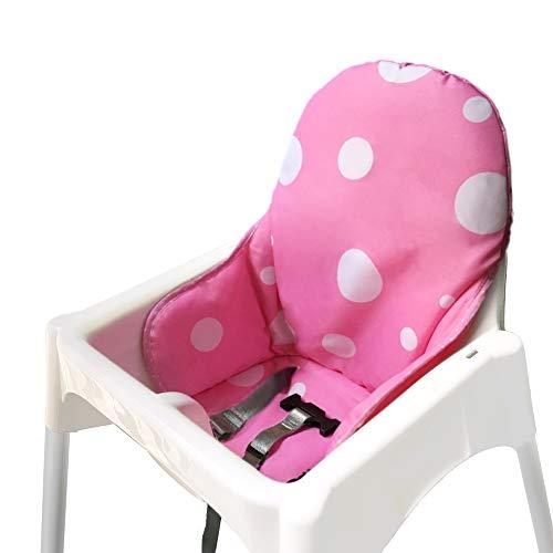 ZARPMA bebe Cojines para de Ikea Antilop Trona ,Lavable, Plegable, Silla Alta...