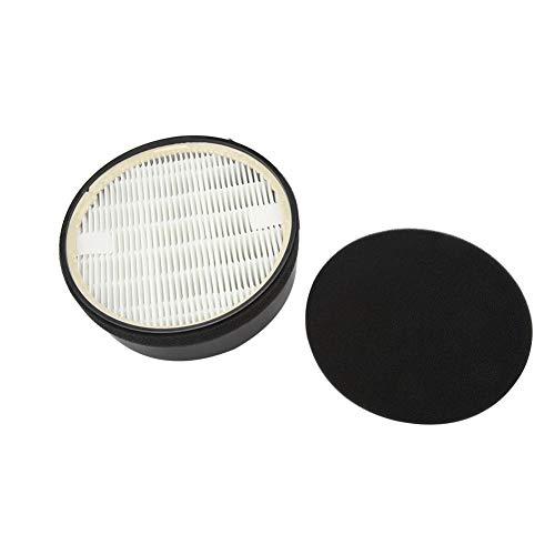 2 paquetes de filtro de reemplazo de purificador de aire para LEVOIT LV-H132 LV-H132-RF Juego de filtros de carbón activado de reemplazo de filtro HEPA