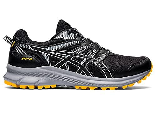 ASICS Men's Trail Scout 2 Running Shoes, 13, Black/White
