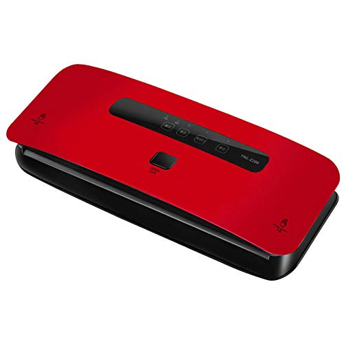 Food Vacuum Sealer Machines Automatic Small Commercial Packaging Machine For Household Use Food Bag Vacuum Sealing Plastic Sealing Machin Red
