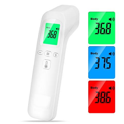 termoscanner migliore Termometro Infrarossi Termometro Digitale Allarme Temperatura Elevata Multifunzione 4 In 1