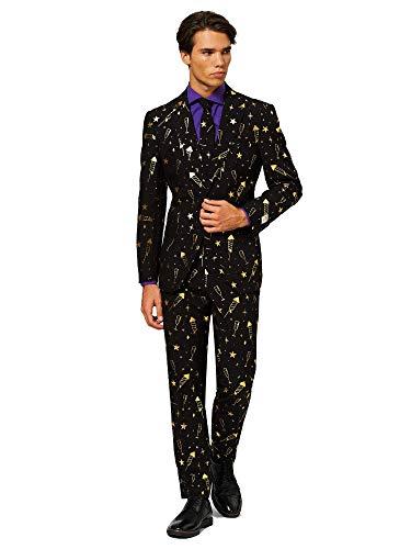 Tegenstanders Leuke Kerst Suits in verschillende Prints - Volledig Suit: Jack, Broeken en Tie