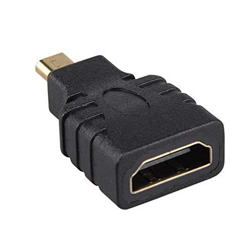 BlackUdragon Micro-HDMI naar HDMI Adapter Vergulde 1080P Micro HDMI Mannelijk Naar Standaard HDMI Voor Raspberry Pi 4 Model B model
