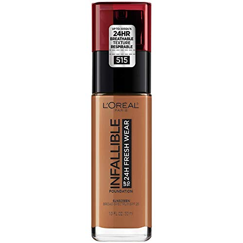 L'Oreal Paris Makeup Infallible Up to 24 Hour Fresh Wear Foundation, All-day Staying Power meets Lightweight, Breathable Coverage