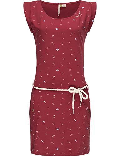 Ragwear Damen Bio Baumwoll Jersey Kleid Tag A Organic Rot20 Gr. XL