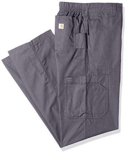 Carhartt Men's Petite Multi-Cargo Pant, Pewter, Large Short