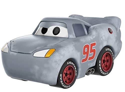 Funko- Disney Cars 3-Lightning Mcqueen Grey (Primed) Figurina, Multicolor, 14179