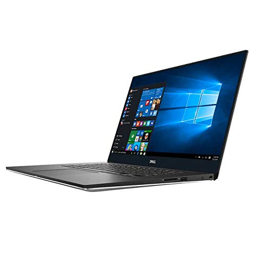 Dell XPS 15 7590, 39,6 cm (15,6 Zoll), 4K UHD Touch, 9. Generation, Intel Core i7-6, Core 9750H, NVIDIA GeForce GTX 1650, 4 GB GDDR5 silber Touch Display