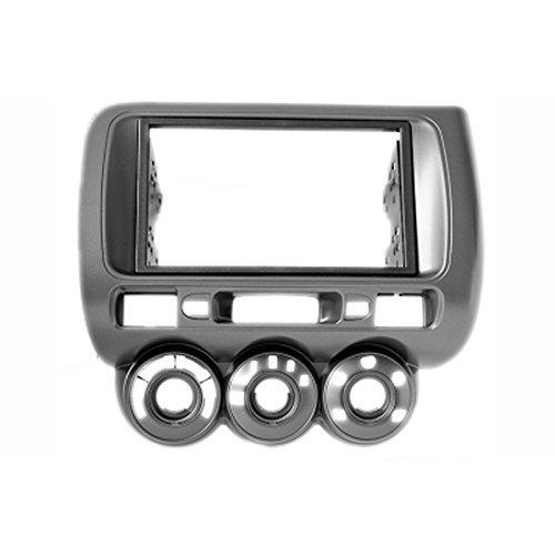 Carav 11-464 Adattatore Stereo Radio doppio Din per cruscotto con lettore DVD e attorniata Kit di installazione (ruota sinistra)-Mascherina per autoradio con 173 x 98 e 178 mm x 102 mm