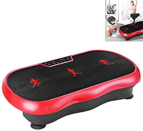 Nobrand Fitness-Vibrationsmaschine, oszillierende Plattform, Massagegerät für den ganzen Körper, Fernbedienung und Smart-Touchscreen (max. Belastung 150 kg)