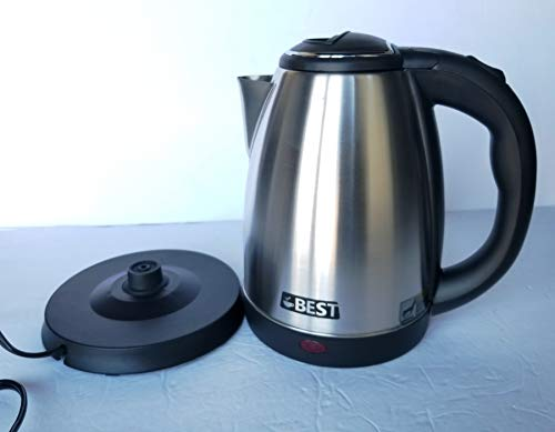 Best Electric Tea Kettle (RAPID BOIL TECHNOLOGY) Automatic Shutoff Cordless - HUGE 2.0L Capacity,Perfect for Small Gatherings