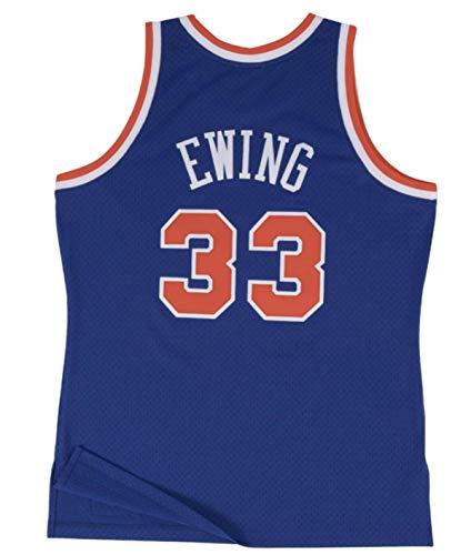 Mitchell & Ness New York Knicks Patrick Ewing 1991 Road Swingman Jersey (Large)