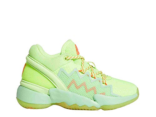 adidas D.O.N. Issue 2 C - Zapatillas de baloncesto para niños, color Verde, talla 33.5 EU