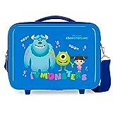 Disney Boo! Neceser Adaptable Azul 29x21x15 cms Rígida ABS 9,14L