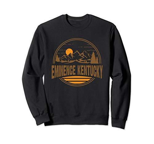 Vintage Eminence, Kentucky Mountain Hiking Souvenir Print Sweatshirt