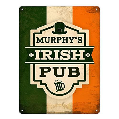 trendaffe - Metallschild XXL mit Murphy's Irish Pub Motiv