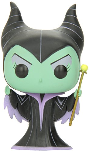 Funko Pop Disney - Malefica 2350, figura con cabeza movil Disney