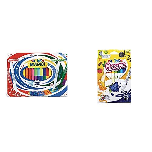 Rotuladores Mágicos Magic Markers - 20 Uds + Rotuladores Perfume - 12 Uds