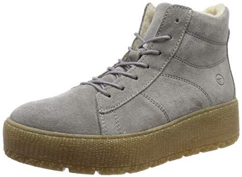 Tamaris Damen 1-1-26096-23 Hohe Stiefel, Grau (Light Grey 254), 38 EU