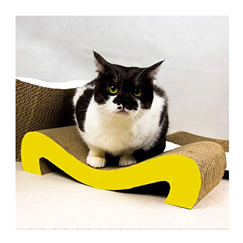 Rascador de cartón para Gatos. Alfombrillas de Cartón Rascador de Gatos.