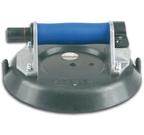 Saugheber VERIBOR Saugheber aus Aluminium mit Handpumpe, im Koffer, spezieller Saugscheibe für gewölbte und stark strukturierte Oberflächen