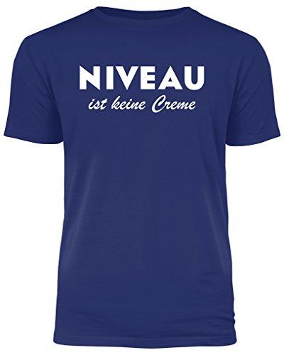 Niveau ist Keine Creme - lustiges T-Shirt (3XL)