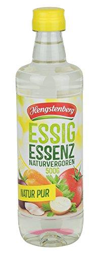 Essig Essenz naturvergoren 20% Säure 8x500 g Flasche