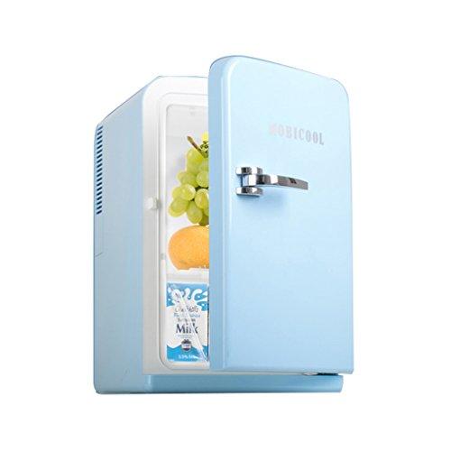 Mini-Gefrierschränke The Harvest Season- 15L Pink Blue Kühlung Auto Kühlschrank, kalt und warmes Auto Dual-Use-EIS-Drink 220V AC / 12V DC
