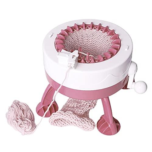 LOVOICE Express - Máquina de tejer, 22 agujas, para hacer punto, para hacer telar regalos, juguetes hechos a mano, como gorros, guantes