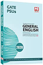 General English for GATE 2020 and PSUs 2020 -Theory and Previous Year Solved Papers